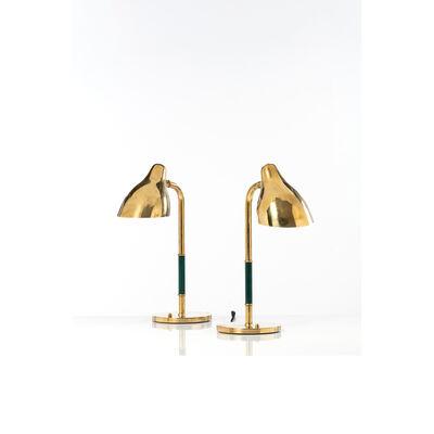 Vilhelm Lauritzen, 'Pair of table lamps', 1948s