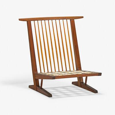 George Nakashima, 'Conoid Cushion Lounge Chair, New Hope, PA', 1966
