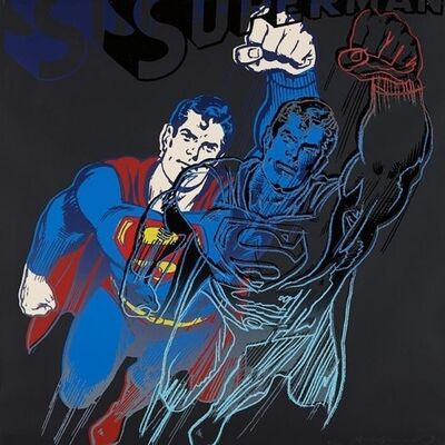 Andy Warhol, 'Myth Portfolio- Superman', 1981