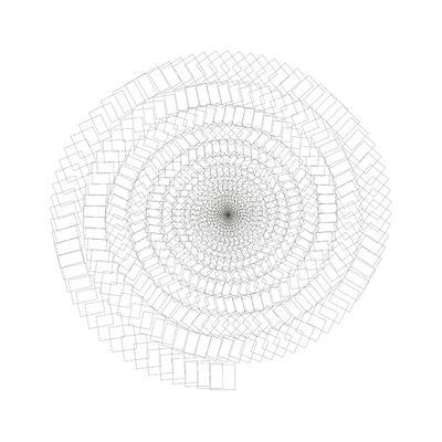 Imanol Marrodán, 'Espiral siniestra. Yin', 2007