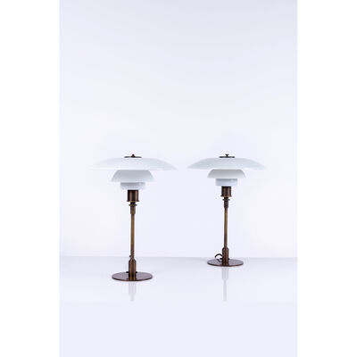 Poul Henningsen, 'PH 4/3 Model  Pair of table lamps', 1927