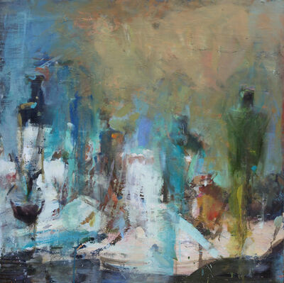 Cynthia Packard, 'Blue Bottles', 2000's