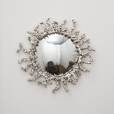 Michel Salerno, 'White Cristal Handmade Mirror', 2014