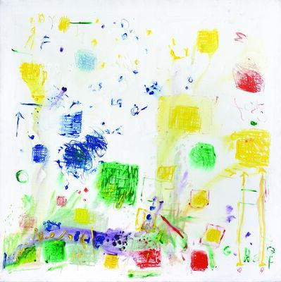 Clorindo Testa, 'Manchas azules', 2010