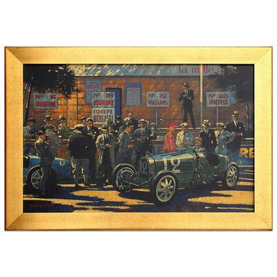 Barry Rowe, 'The Bugatti Pits | Automotive | Car', 2010