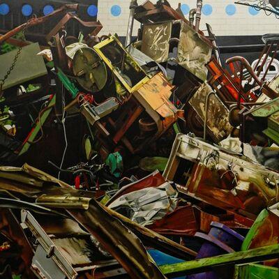 György Jovián, 'Demolition Study XIX.', 2017