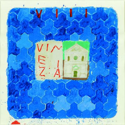 Joe Tilson, 'Stones of Venice Santa Maria della visitazione, Vinezia', 2012
