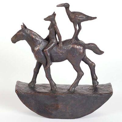 Sadie Brockbank, 'Horse and Riders'
