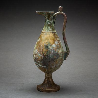 Unknown Sassanian, 'Sassanian Bronze Ewer', 200-600