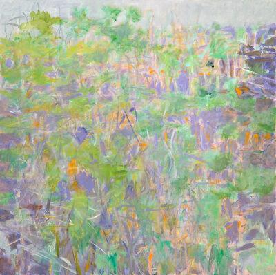 Wolf Kahn, 'TENDING TOWARD GREEN', 2005