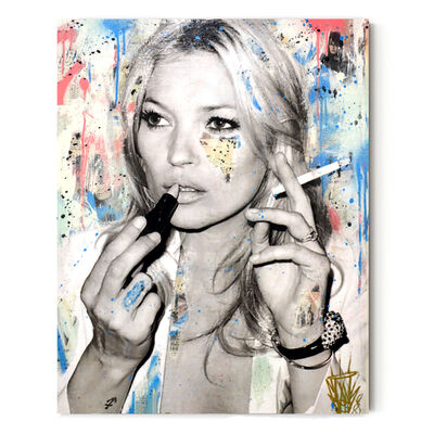 Seek One, 'Kate Moss (Smoking)', 2020
