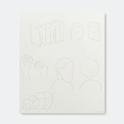 Geoff McFetridge, 'Mind Shapes Congruent', 2018
