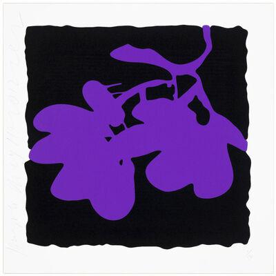Donald Sultan, 'Lantern flowers - Purple', 2012