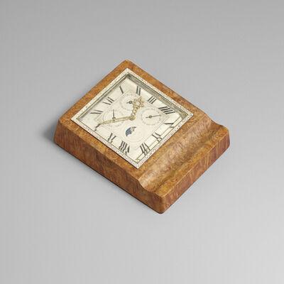 J.E. Caldwell, 'Perpetual calendar table clock', c. 1935