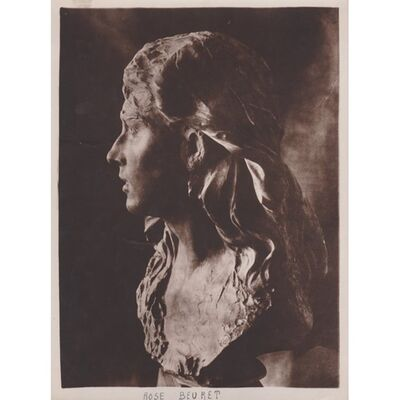 Auguste Rodin, 'Rose Beuret', ca. 1915