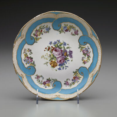 Sèvres Porcelain Manufactory, 'Two Round Fruit Dishes (Part of a Dessert Service)', 1782