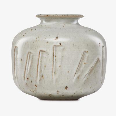 Robert Turner, 'Vase with carved design, Alfred, NY'