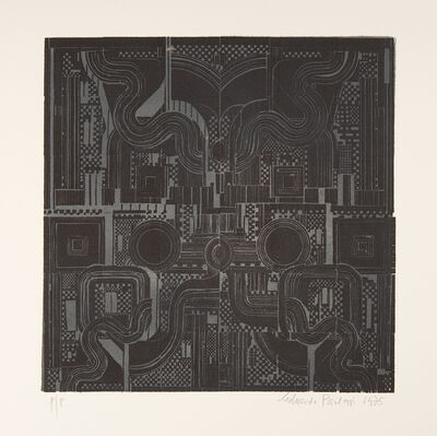 Eduardo Paolozzi, 'Lead Cameron', 1975