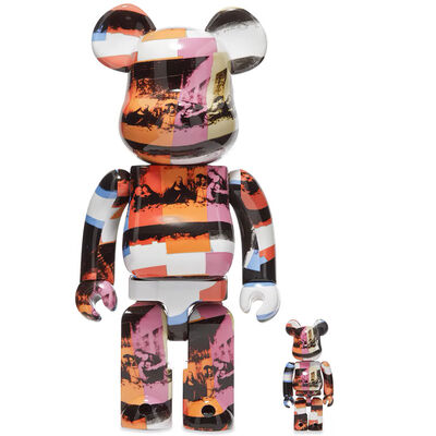 BE@RBRICK, 'ANDY WARHOL - THE LAST SUPPER 400% & 100%', 2020
