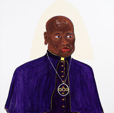 Richard Mudariki, 'Man of God', 2019