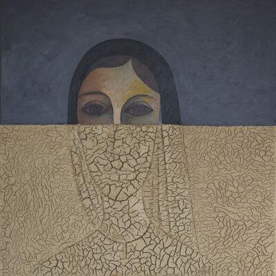 Sliman Mansour, 'Portrait I', 2018