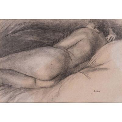 Maximilien Luce, 'Reclining nude'