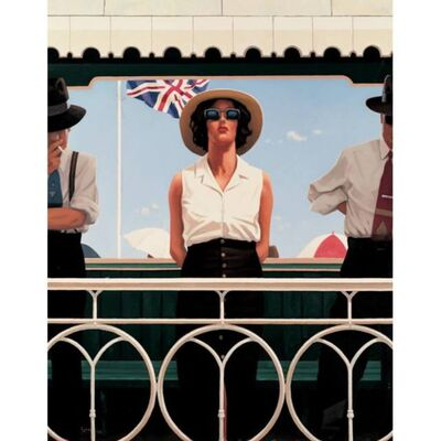 Jack Vettriano, 'Bird on the Wire (Signed Limited Edition Print)', 2003