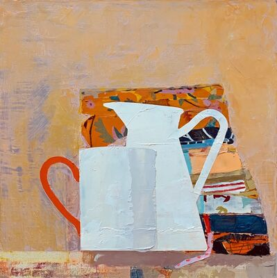 Sydney Licht, 'Still Life with Fat Quarters, Cup & Pitcher', 2020