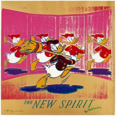 Andy Warhol, 'New Spirit ', 1985