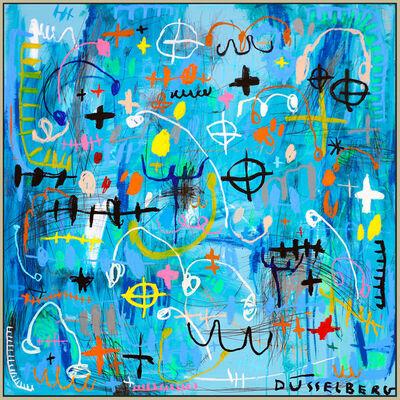 Nadia Düsselburg, 'Bitch Is Blue', 2019