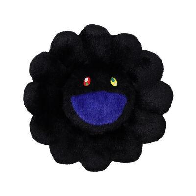 Takashi Murakami, 'Flower Cushion 30 cm (Black)', 2020