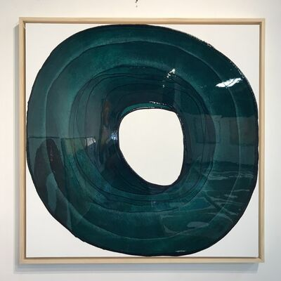 Ted Collier, 'Circle Series 4 (Green)', 2019