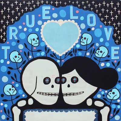 Mike Egan, 'True Blue Love', 2018