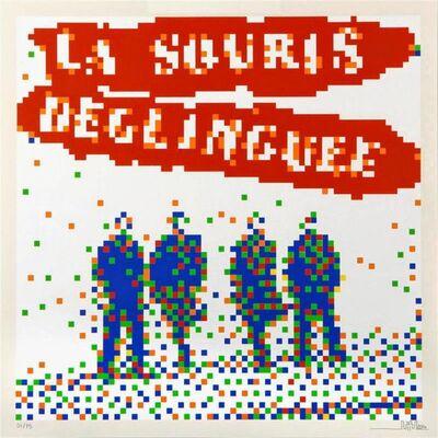 Invader, 'La Souris Deglinguee', 2008