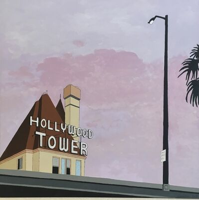 Don Hammontree, 'Hollywood Tower', 2019