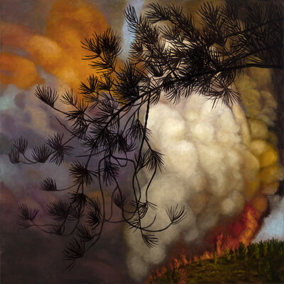 Joan Wadleigh Curran, 'FIRE', 2018