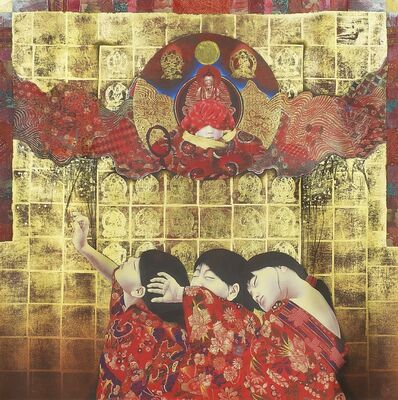 Kyosuke Tchinai, 'Descent of Vairocana', 1985-1995