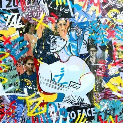 Aiiroh, 'Street Cubism', 2018