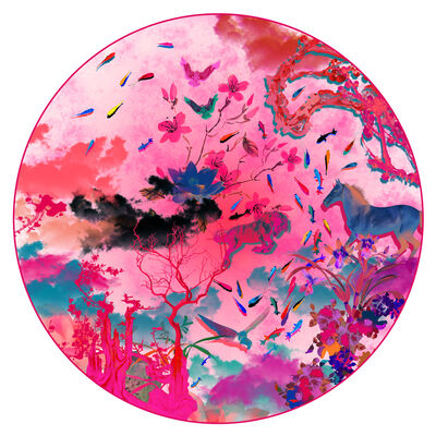 Guang-Yu Zhang, 'Oriental Memory XV', 2014
