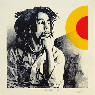 Shepard Fairey, 'Bob Marley - Sun is Shining', 2020