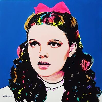 Jack Graves III, 'Dorothy Icon V (Judy Garland)', 2020
