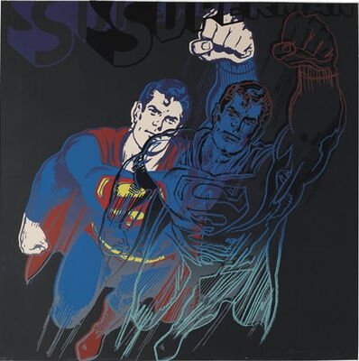 Andy Warhol, 'Superman (F. & S. II. 260)', 1981