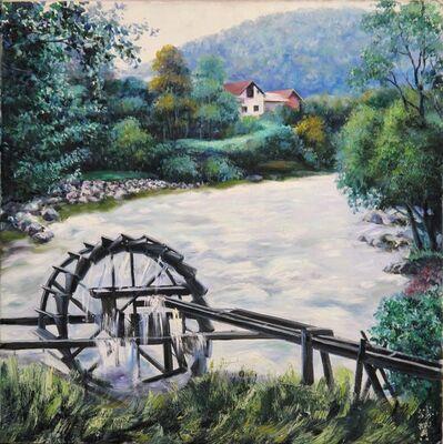 Zhang Shengzan 张胜赞, 'Waterwheel', 2009