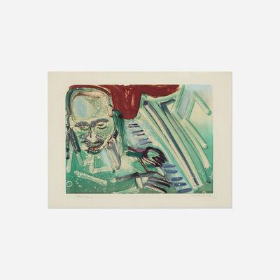 Romare Bearden, 'Piano Man', c. 1980