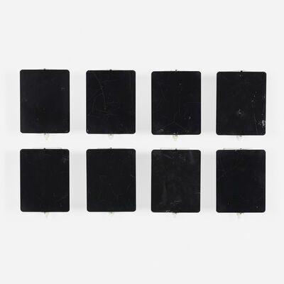 Charlotte Perriand, 'wall sconces, set of eight', 1963