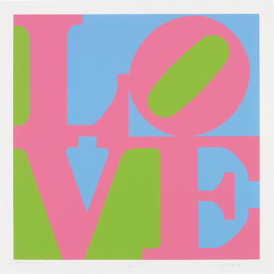 Robert Indiana, 'Rose, from A Garden of Love', 1982