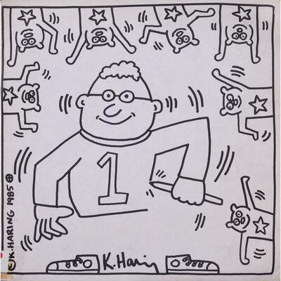 Keith Haring, 'Fun Book', 1985