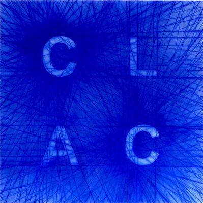 Carmen Perrin, 'Tracé CLAC', 2019
