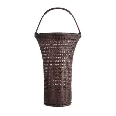 Tanabe Chikuunsai II, 'Chinese Style Splayed Flower Basket 16 220', 1910-2000