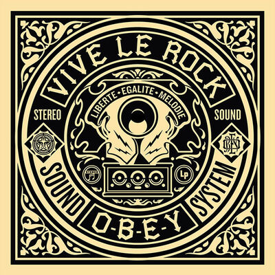Shepard Fairey, '50 Shades of Black Box Set: Viva Le Rock', 2014